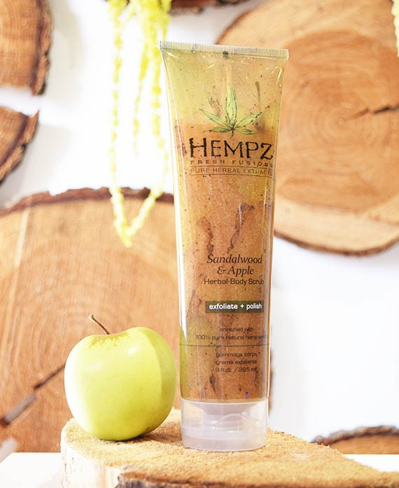 SANDALWOOD 6 APPLE BODY SCRUB